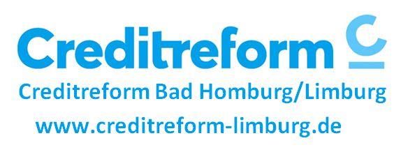 Logo Creditreform Neu Mai 2019 mit Firma und Homepage