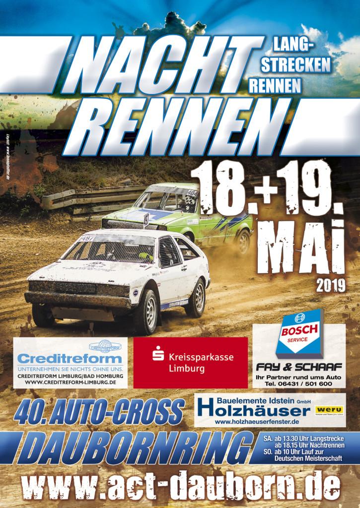 Plakat Dauborner Autocross