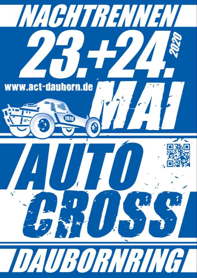 plakat autocross 2020