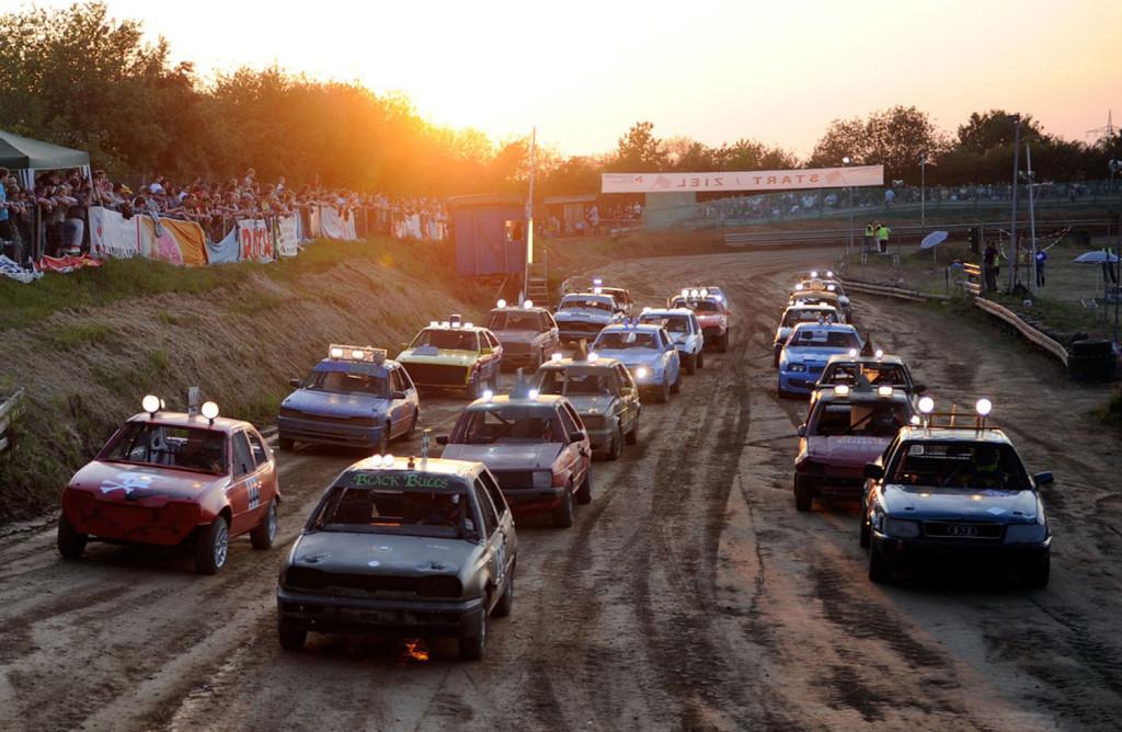 Das Nachtrennen auf dem Daubornring ist eine der größten Sportveranstaltung im Landkreis